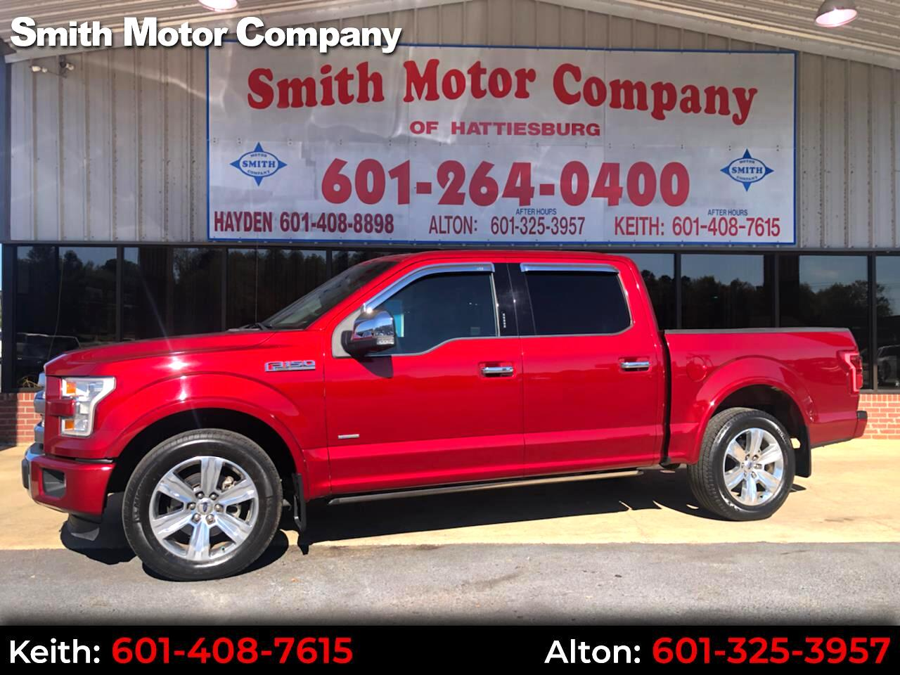 "Ford F-150 2WD SuperCrew 145"" Platinum 2016"