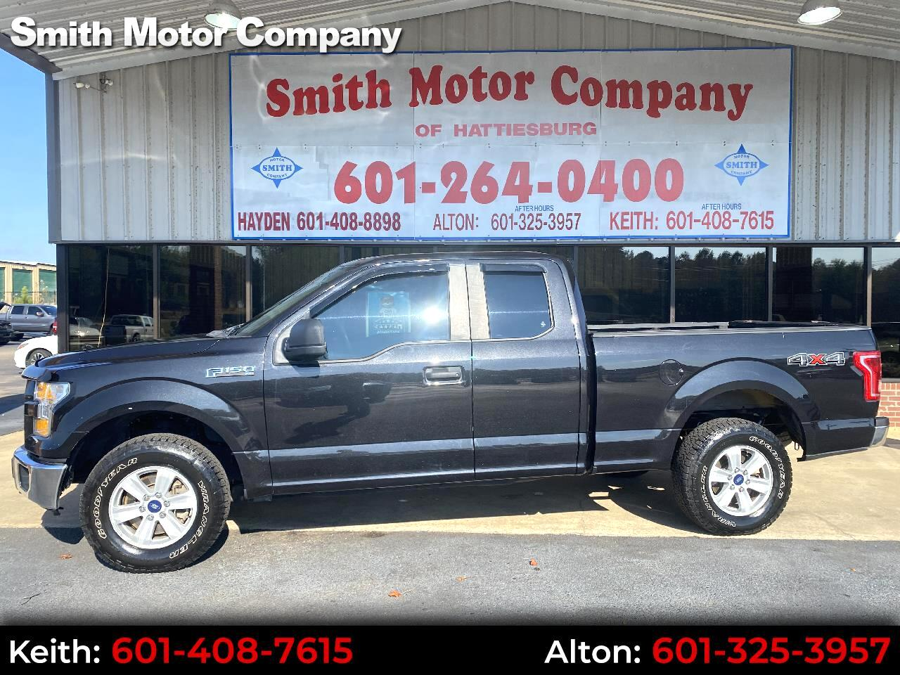 "Ford F-150 4WD SuperCab 145"" XL 2015"
