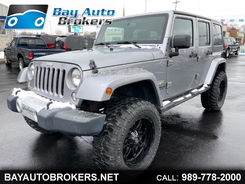 Jeep Wrangler Unlimited Sahara 4WD 2014