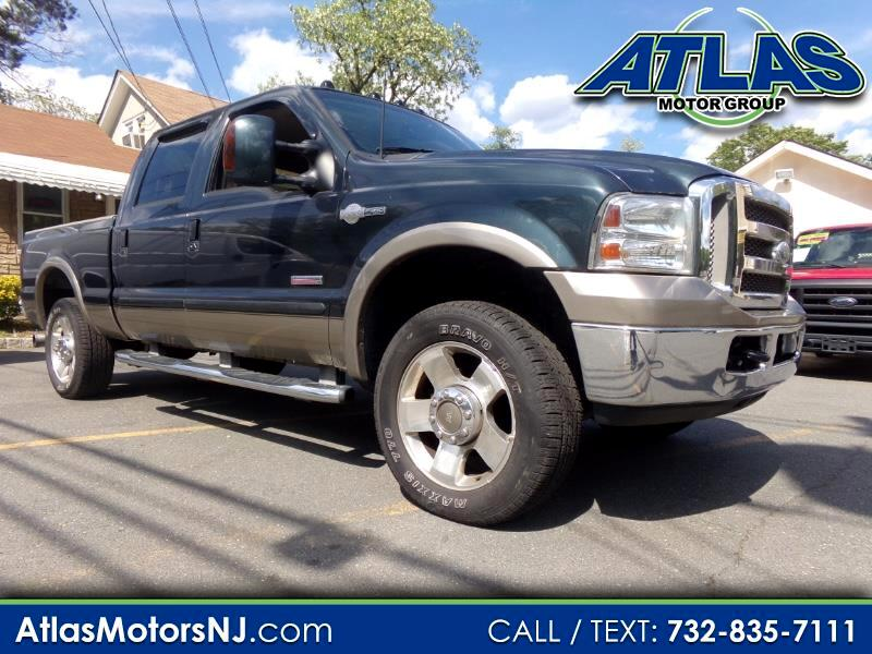 2005 Ford F-250 SD XLT Crew Cab Long Bed 4WD King Ranch 81,900 miles