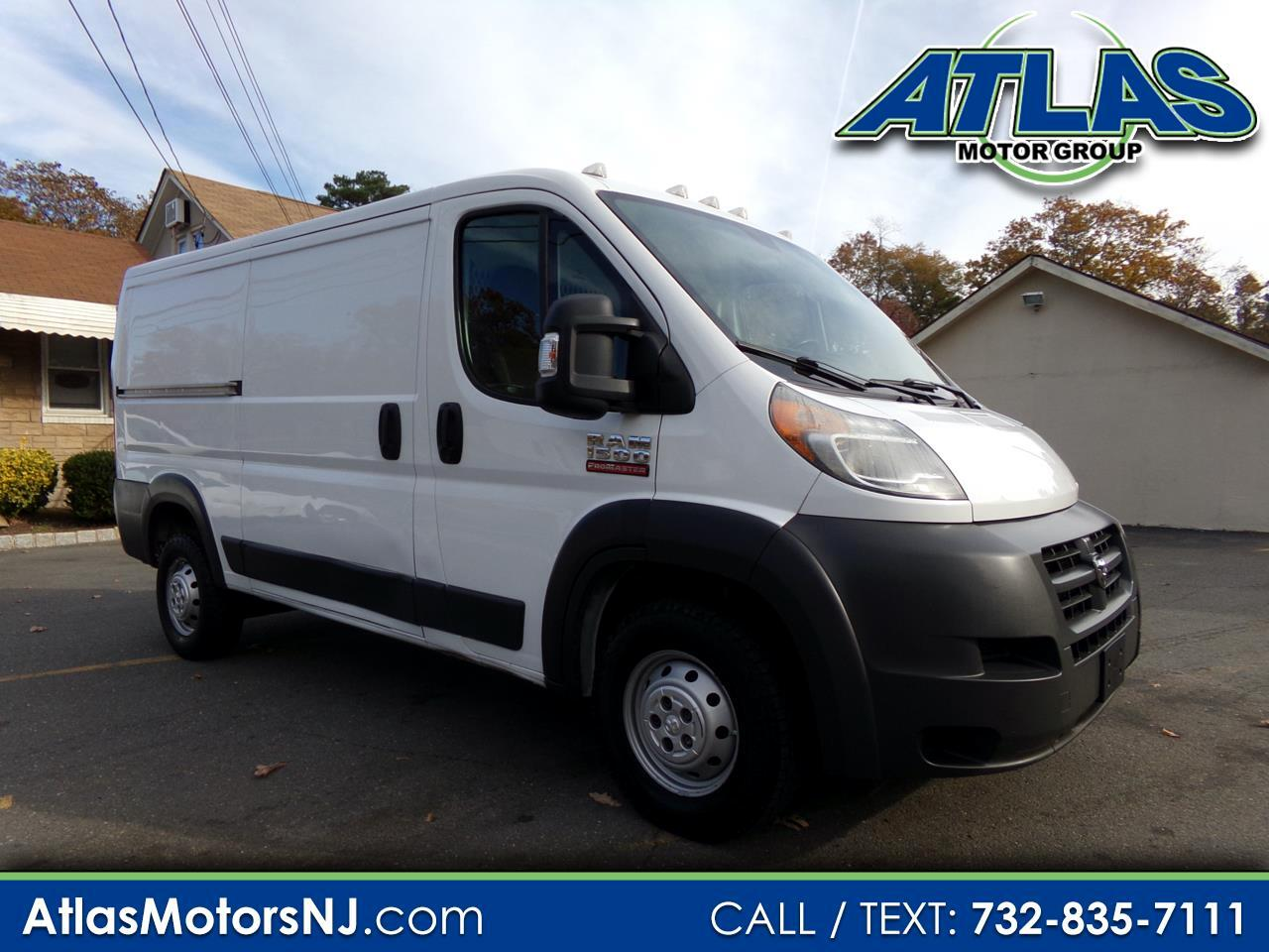 RAM Promaster 1500 Low Roof Tradesman 136-in. WB 2015