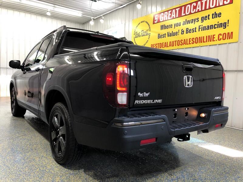 2017 Honda Ridgeline Black Edition AWD