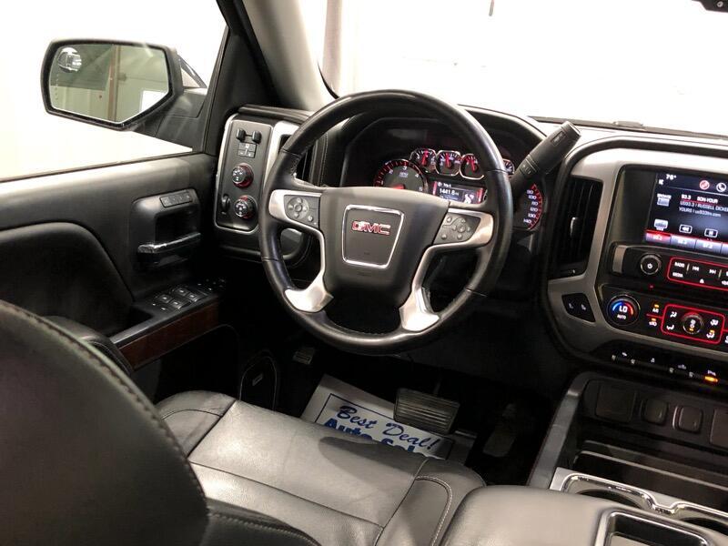 2015 GMC Sierra 1500 SLT Crew Cab Short Box 4WD