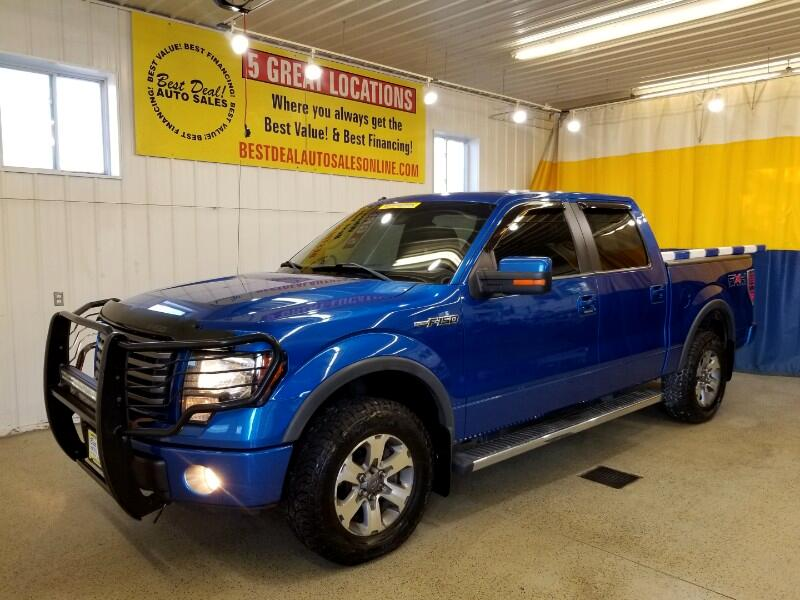 Ford F-150 FX4 SuperCrew 5.5-ft. Bed 4WD 2011