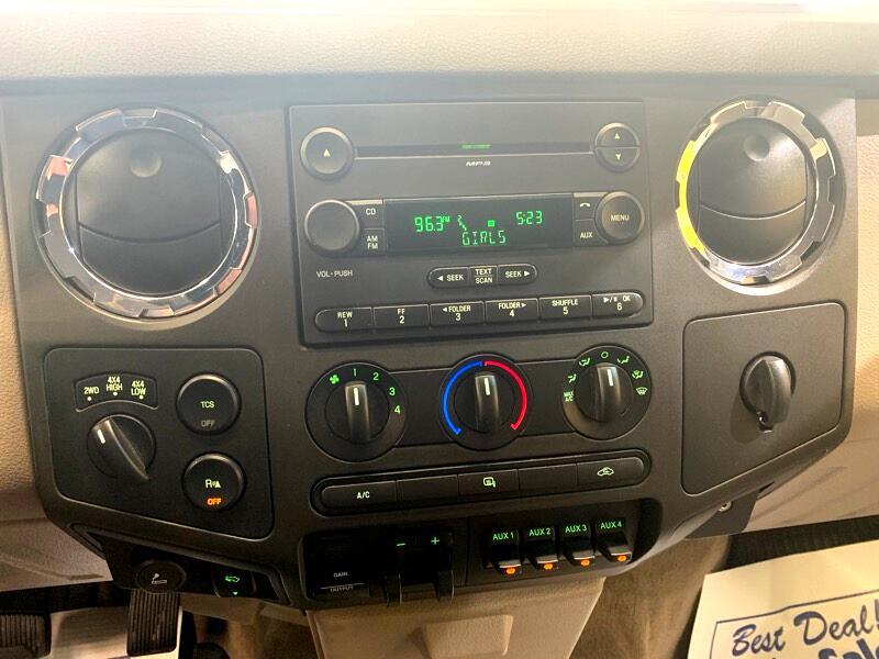 2008 Ford F-250 SD XLT Crew Cab 4WD