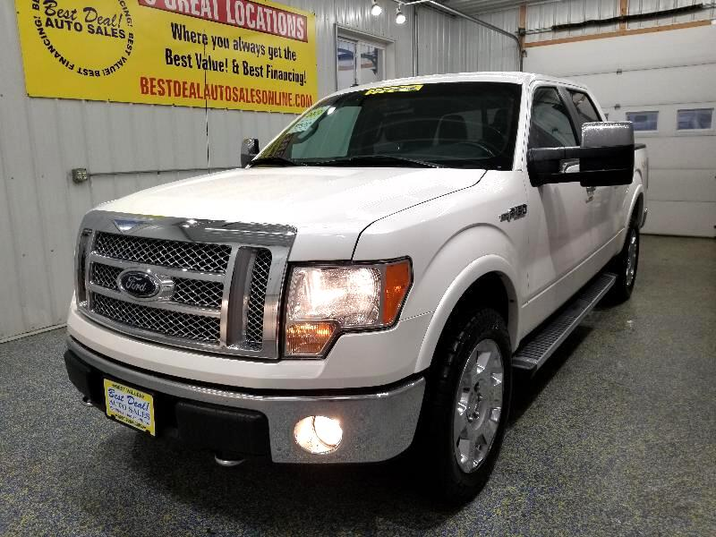 "2012 Ford F-150 4WD SuperCrew 139"" Lariat"