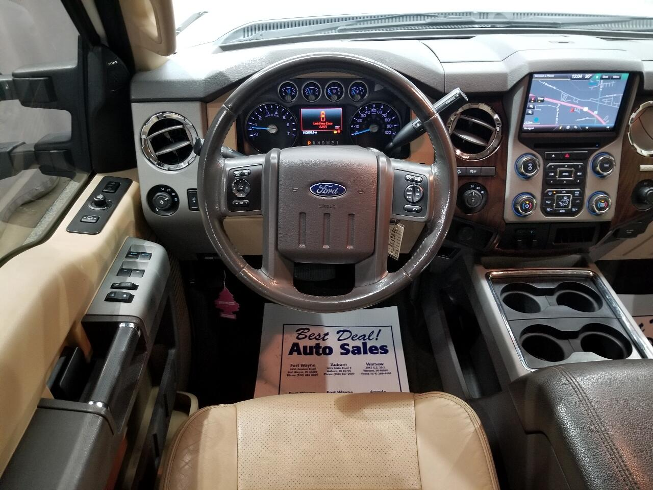 2015 Ford F-350 SD Lariat Crew Cab 4WD