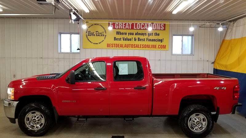 2014 Chevrolet Silverado 2500HD Work Truck Crew Cab 4WD