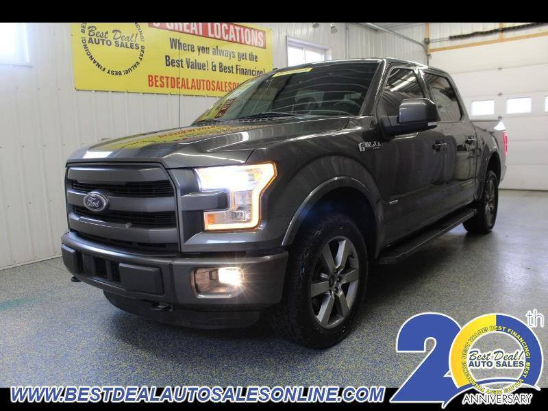 "2015 Ford F-150 4WD SuperCab 133"" Lariat"