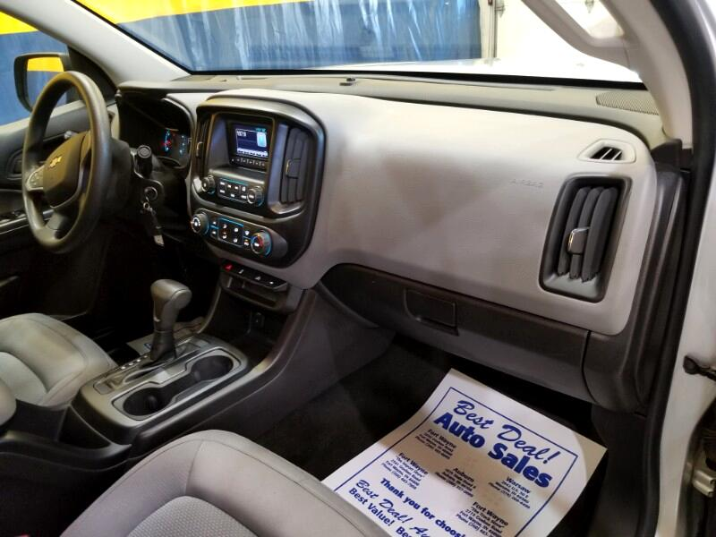 2016 Chevrolet Colorado Work Truck Crew Cab 4WD
