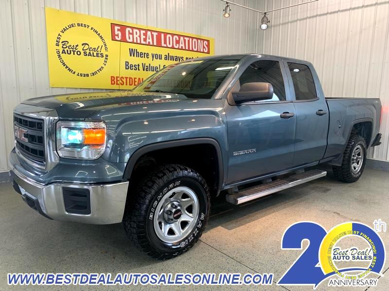 GMC Sierra 1500 Base Double Cab 4WD 2014