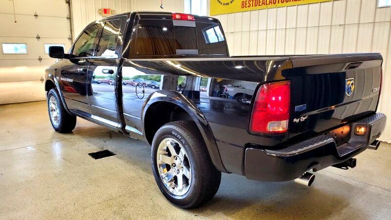 2012 RAM 1500 Laramie Quad Cab 4WD