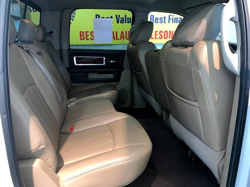 2010 RAM 3500 Laramie Crew Cab LWB 4WD DRW