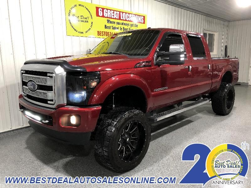 2014 Ford F-350 SD Platinum Crew Cab Long Box 4WD