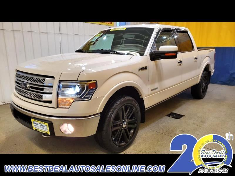 "Ford F-150 4WD SuperCrew 145"" Limited 2014"