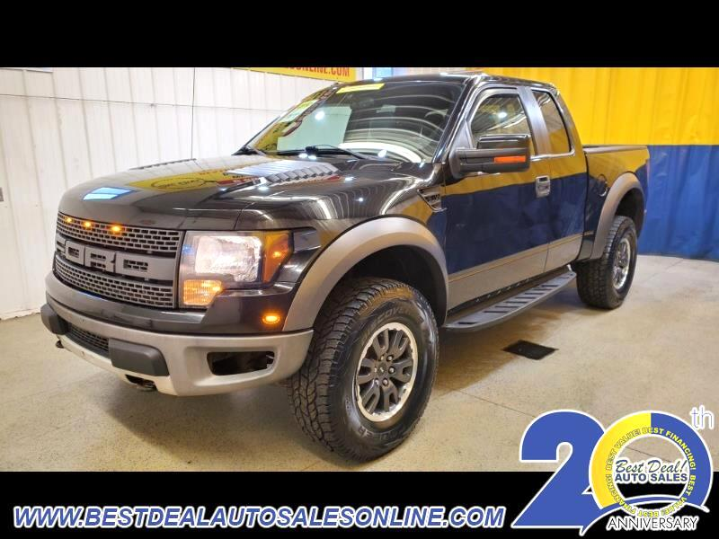 "Ford F-150 4WD SuperCab 133"" SVT Raptor 2010"