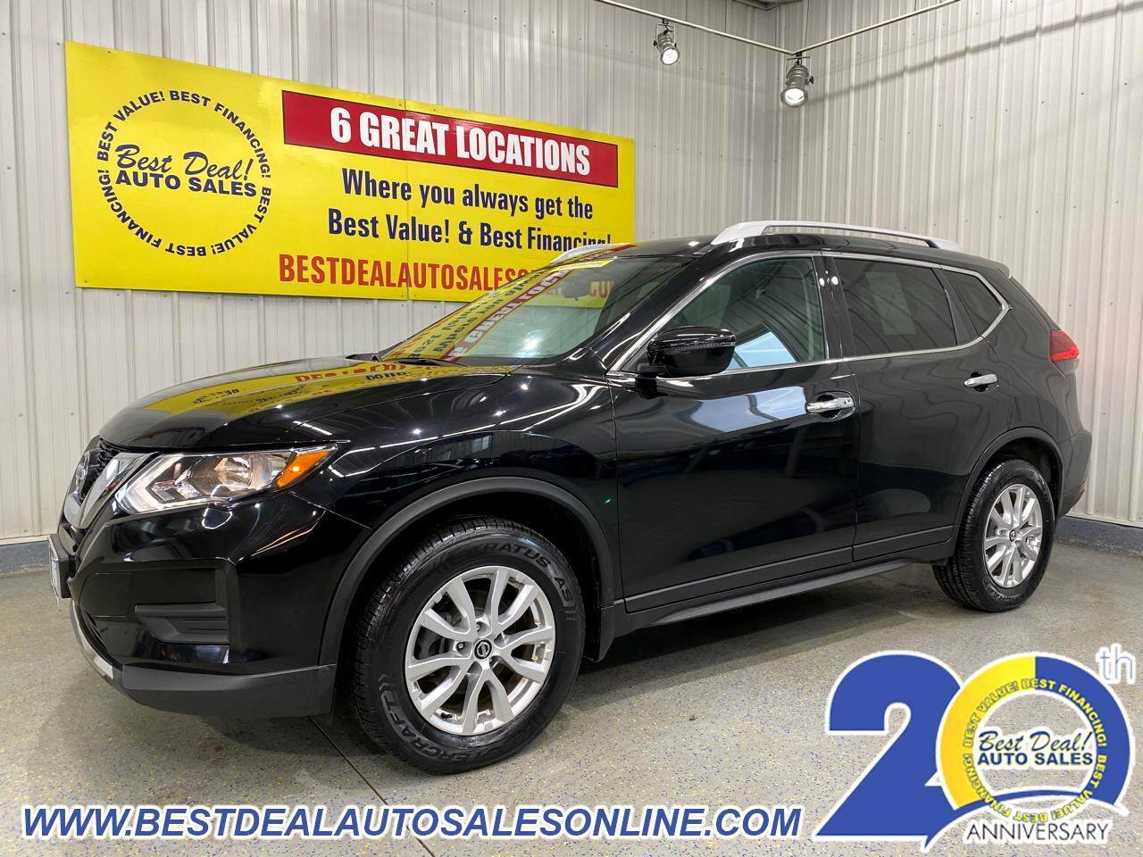 Nissan Rogue AWD 4dr SV 2017