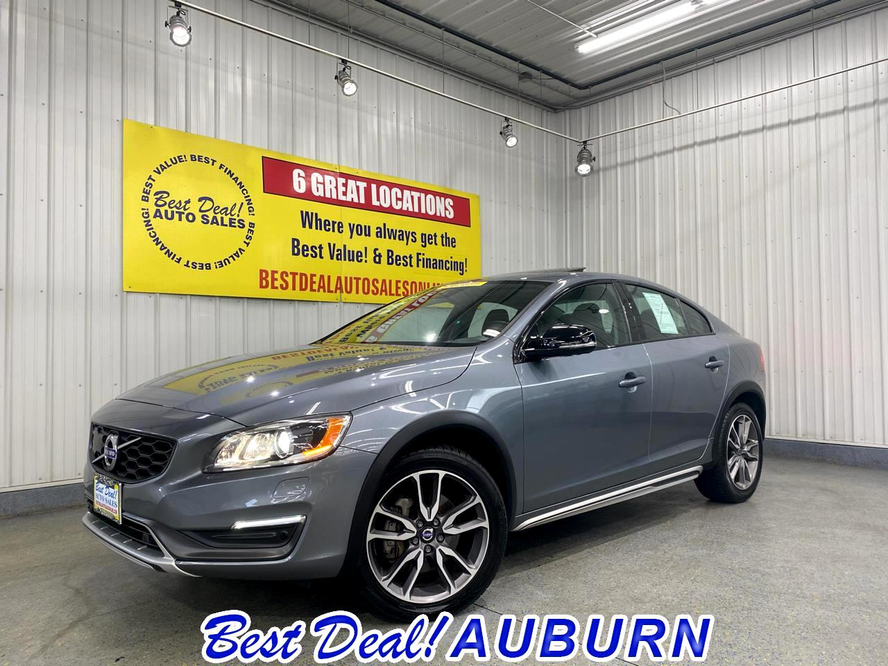 Volvo S60 Cross Country 4dr Sdn T5 Platinum 2016
