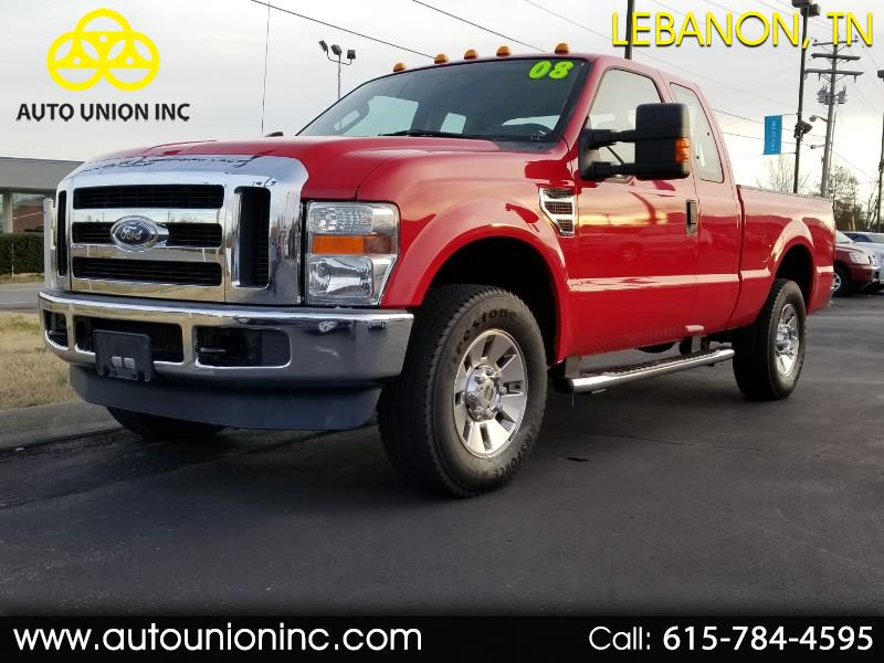 2008 Ford F-250 SD XLT SuperCab Long Bed 4WD