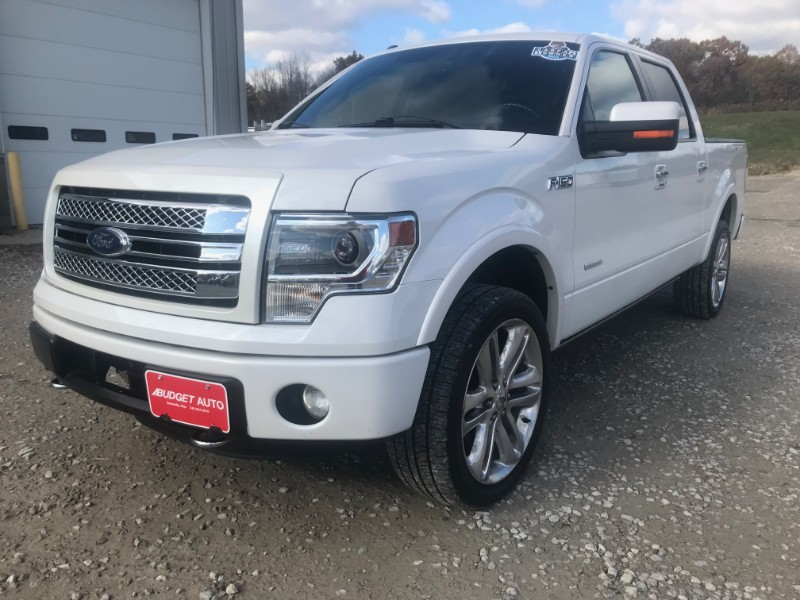 2013 Ford F-150 Limited SuperCrew 6.5-ft. Bed 4WD