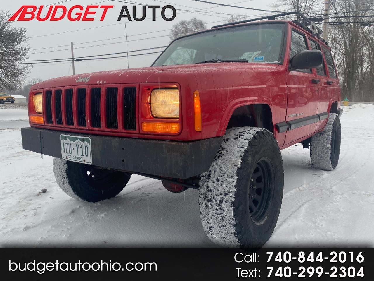 Jeep Cherokee Sport 4-Door 4WD 2001