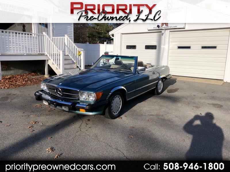 1989 Mercedes-Benz 560 SL coupe