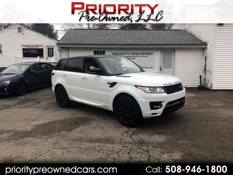 2015 Land Rover Range Rover Sport 3.0L V6 Supercharged HSE