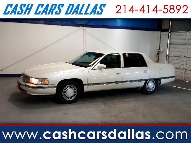 used 1995 cadillac deville sedan for sale in dallas tx 75229 cash cars dallas. Black Bedroom Furniture Sets. Home Design Ideas
