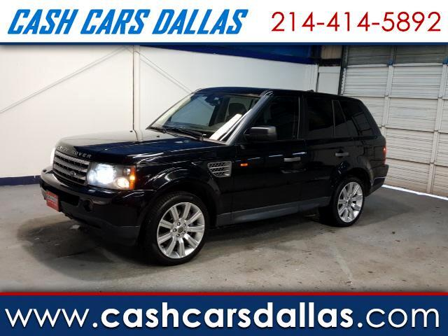 2008 Land Rover Range Rover Sport 3.0L V6 Supercharged HSE