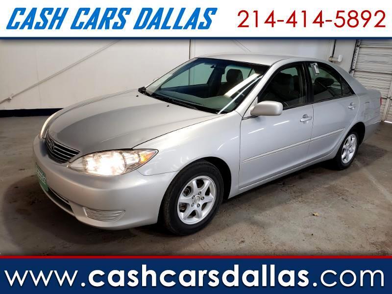 Cash Cars Dallas Tx >> Used 2005 Toyota Camry Le In Dallas Tx Near 75208 4t1be32k05u100329 Auto Com