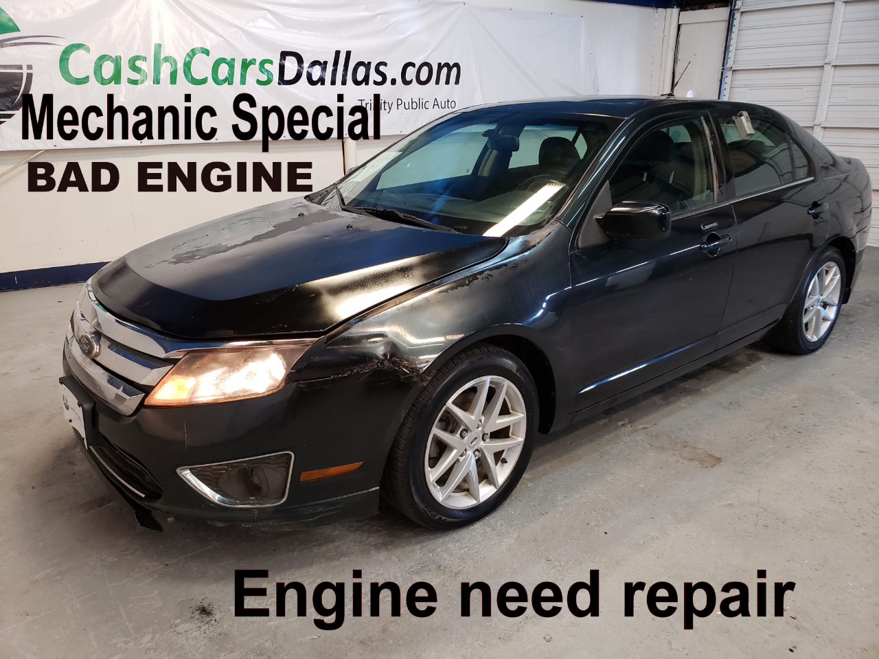 Ford Fusion V6 SEL 2010
