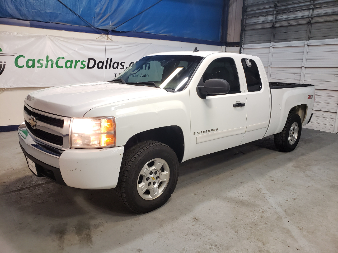 Chevrolet Silverado 1500 Work Truck Ext. Cab Std. Box 4WD 2008