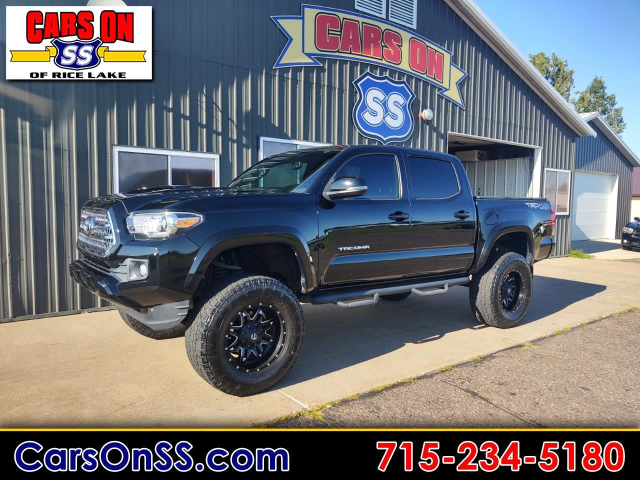 Toyota Tacoma TRD Sport Double Cab 5' Bed V6 4x4 AT (Natl) 2016