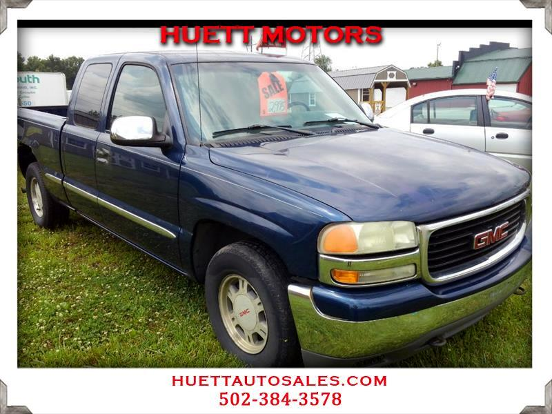 2002 GMC Sierra 1500 SLE Ext. Cab Long Bed 2WD