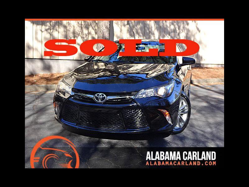 2016 Toyota Camry SE Sports Back Up Camera XM BT Alloys