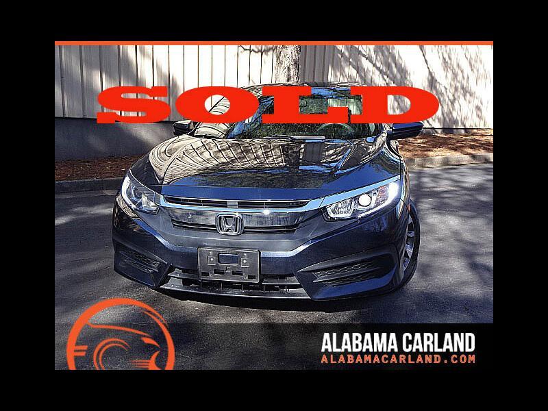 2016 Honda Civic EX Sedan CVT Blind Spot Camera Sunroof XM BT Alloy
