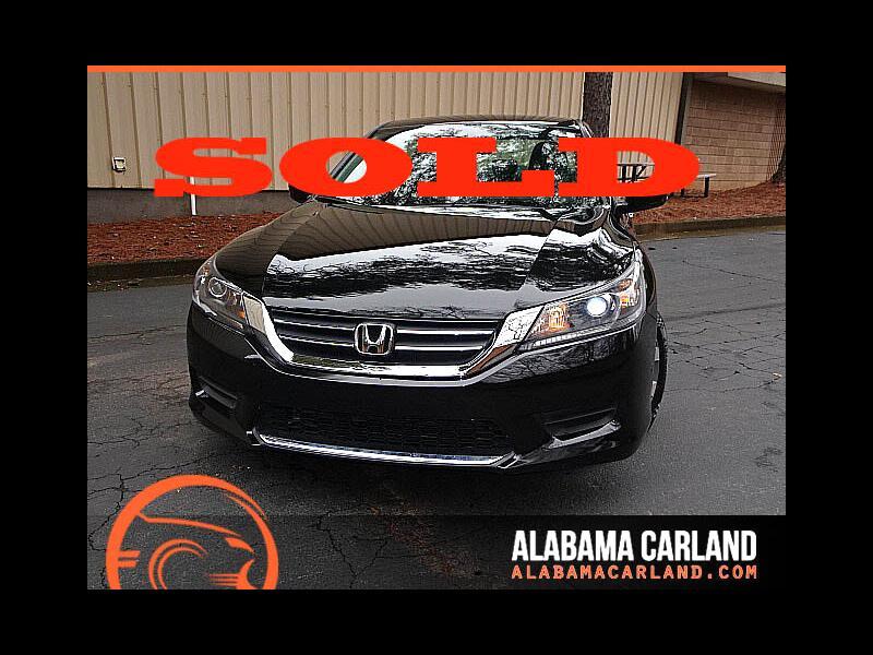 2015 Honda Accord LX Sedan CVT Back Up Camera XM BT Alloys