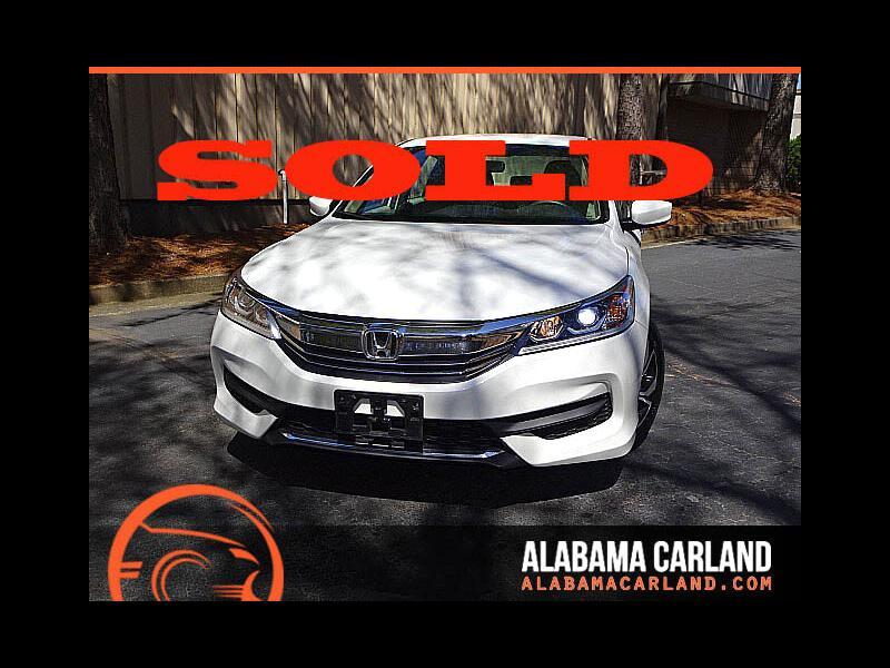 2016 Honda Accord LX Sedan CVT Back Up Camera XM BT Alloys