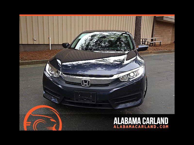 2016 Honda Civic LX Sedan CVT Back Up Camera XM BT