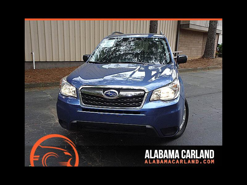 2016 Subaru Forester 2.5i PZEV CVT Back Up Camera XM BT Alloys