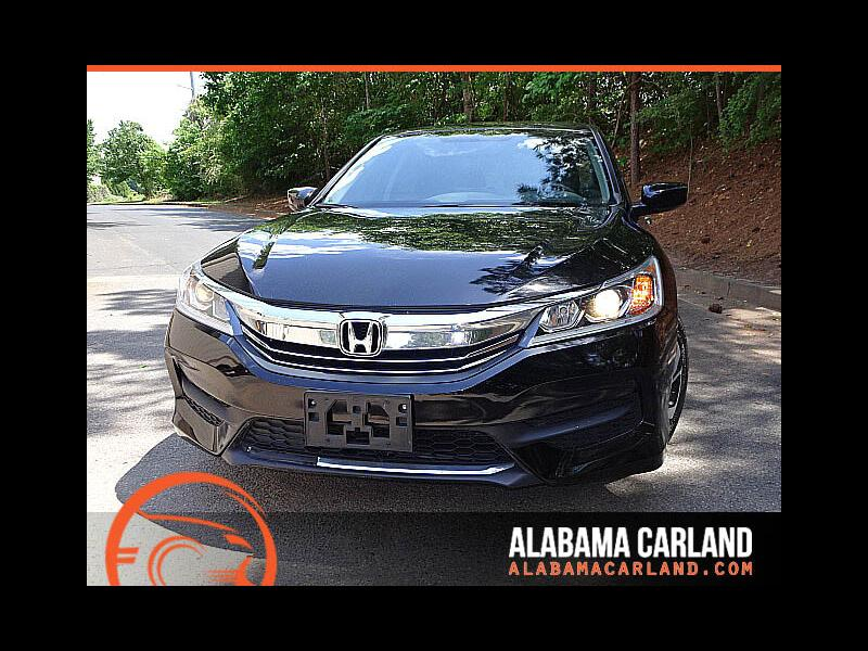 2016 Honda Accord LX Sedan CVT Back Up Camera XM BT Alloys