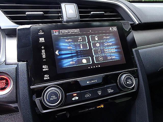 2016 Honda Civic EX Sedan CVT Blind Spot Camera Sunroof XM BT LED A