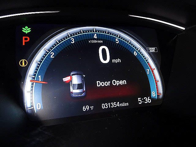 2016 Honda Civic EX Sedan CVT Blind Spot Camera Sunroof LED XM BT A