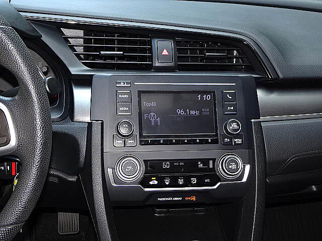 2016 Honda Civic LX Sedan 6 Speed Manual Back Up Camera BT