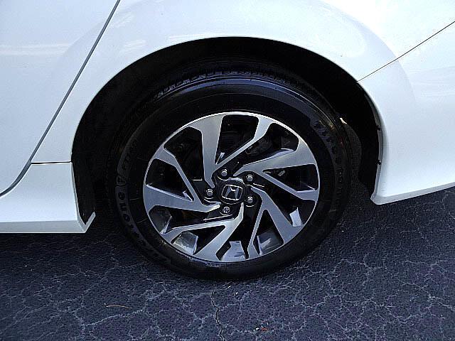 2016 Honda Civic EX Sedan CVT Blind Spot Camera Sunroof XM LED BT A