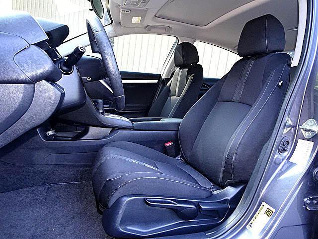 2016 Honda Civic EX Sedan CVT Blind Spot Camera Sunroof LED XM BT A