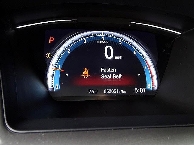 2016 Honda Civic EX Sedan  CVT Blind Spot Camera Sunroof LED XM BT