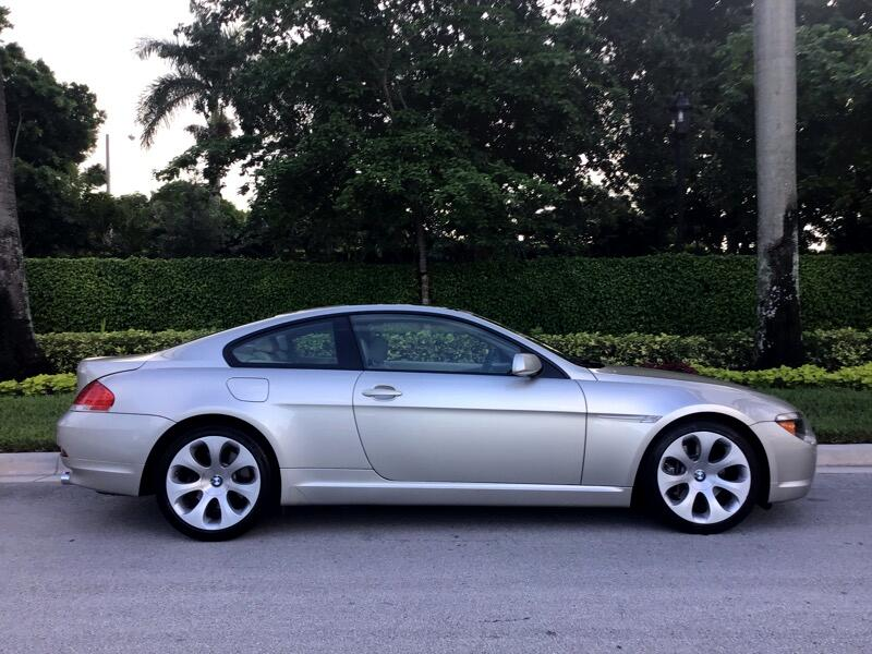BMW 6 Series 645Ci 2dr Cpe 2005