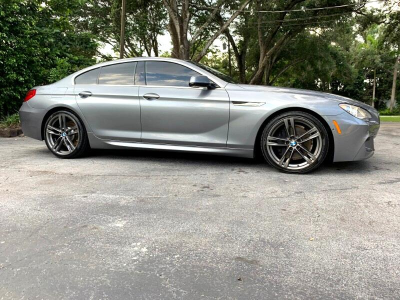 2013 BMW 6 Series 4dr Sdn 650i Gran Coupe