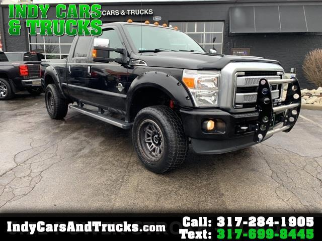 Ford Super Duty F-250 SRW Platinum 4WD Crew Cab 6.75' Box 2015
